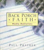 Cover of: Back Porch Faith