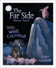 "Cover of: The Far Side ""Rarely Seen"" 2002 Wall Calendar"