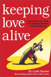 Cover of: Keeping Love Alive