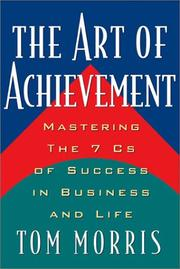 Cover of: Art of Achievement