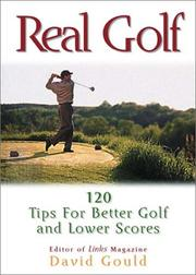 Cover of: Real Golf Tips That Can Save A Round | David Gould