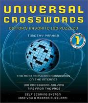 Cover of: Universal Crosswords Volume 1 Editors' Favorite