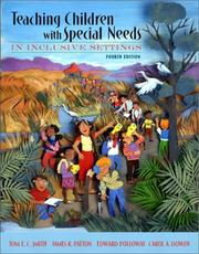 Cover of: Teaching students with special needs in inclusive settings |