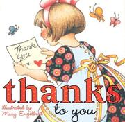 Cover of: Thanks To You