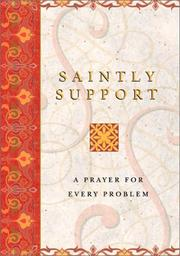 Cover of: Saintly Support