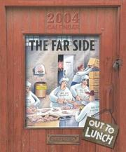 Cover of: The Far Side Out To Lunch 2004 Wall Calendar