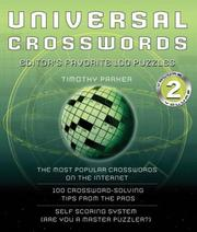 Cover of: Universal Crosswords: Volume 2