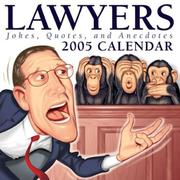 Cover of: Lawyers: Jokes, Quotes, and Anecdotes