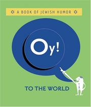 Cover of: Oy! to the World  | Mary Gold; Lisa Parett