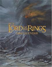 Cover of: Art of the Lord of the Rings