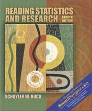 Cover of: Reading Statistics and Research (with Research Navigator)
