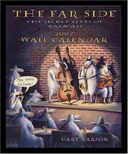 Cover of: The Far Side 2007 Wall Calendar: The Secret Lives of Animals