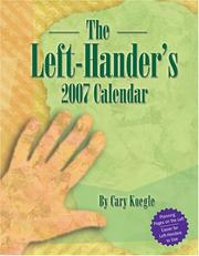 Cover of: The Left Hander's 2007 Desk Calendar