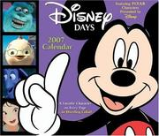 Cover of: Disney Days 2007 Day-to-Day Calendar | Disney