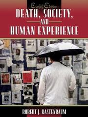 Cover of: Death, society, and human experience