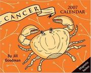 Cover of: Cancer Horoscope 2007 Mini Day-to-Day Calendar