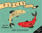 Cover of: Pisces Horoscope 2007 Mini Day-to-Day Calendar