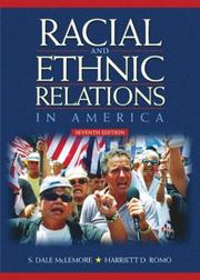 Cover of: Racial and ethnic relations in America