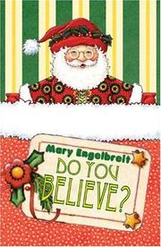 Cover of: Do You Believe?: A Pocket Treasure Book for Christmas (Pocket Treasures)
