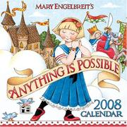Cover of: Mary Engelbreit's Anything is Possible: 2008 Mini Wall Calendar