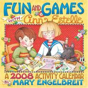 Cover of: Mary Engelbreit's Fun & Games With Ann Estelle: 2008 Wall Calendar