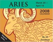 Cover of: Horoscope: Aries