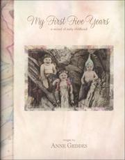 Cover of: My First Five Years - Fairy Edition (Baby Record Book)