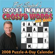 Cover of: Pat Sajak's Code Letter Cross'd Words and More
