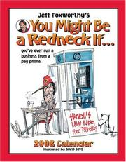 Cover of: Jeff Foxworthys You Might Be a Redneck If