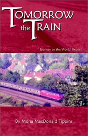 Cover of: Tomorrow the Train