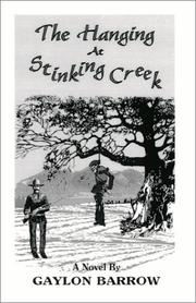 Cover of: The Hanging at Stinking Creek