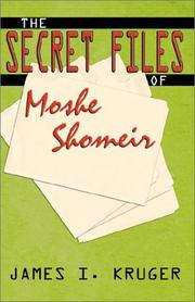Cover of: The Secret Files of Moshe Shomeir