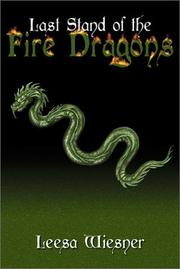 Cover of: Last Stand of the Fire Dragons