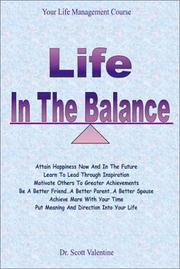Cover of: Life in the Balance