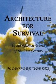Cover of: Architecture for Survival/AFS