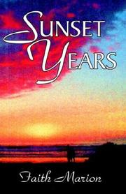 Cover of: Sunset Years