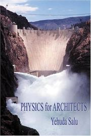 Cover of: Physics for Architects | Yehuda Salu