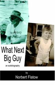 Cover of: What Next Big Guy