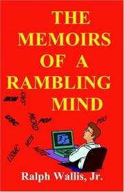 Cover of: The Memoirs of a Rambling Mind