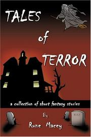 Cover of: Tales of Terror | Rune Macey