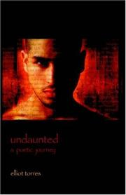 Cover of: Undaunted