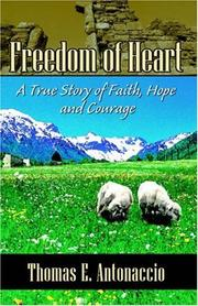 Cover of: Freedom of Heart