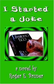 Cover of: I Started a Joke