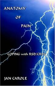 Cover of: Anatomy of Pain