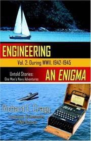Cover of: Engineering an Enigma