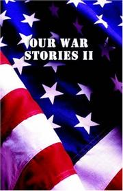 Cover of: Our War Stories II