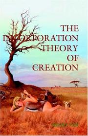 Cover of: The Incorporation Theory of Creation | Henry Vizi