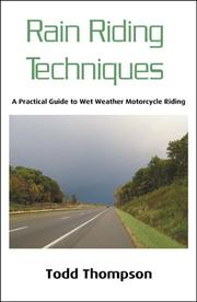 Cover of: Rain Riding Techniques