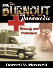 Cover of: The Burnout Paramedic
