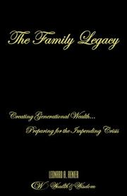 Cover of: The Family Legacy